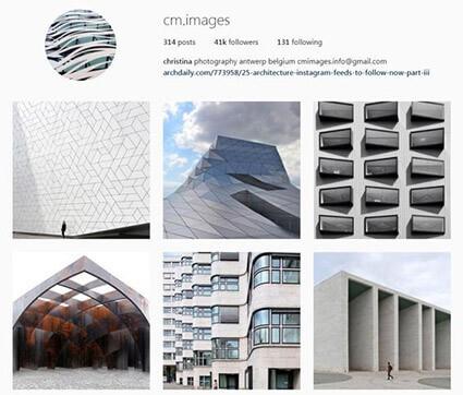 feed instagram arquitetura