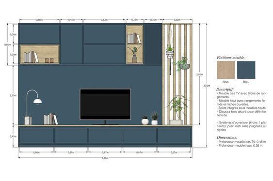 detalhamento utilizando o layout sketchup