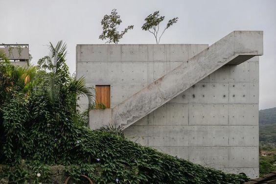 muro de contenção em concreto armado