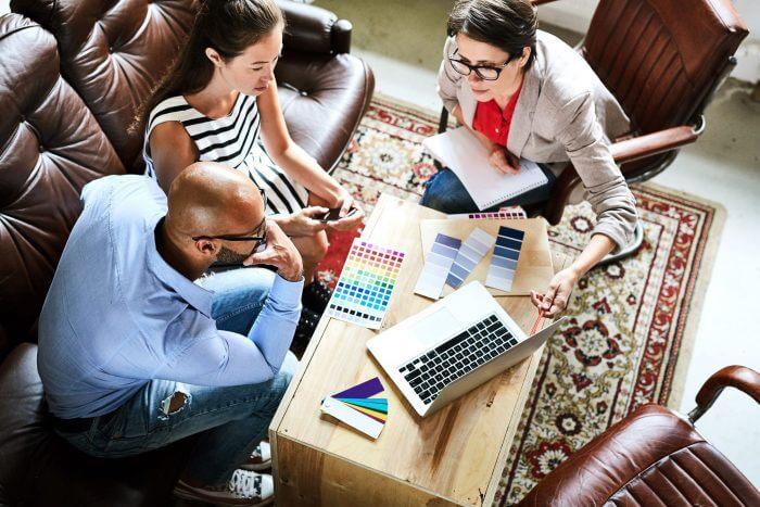 cliente de consultoria de arquitetura e interiores